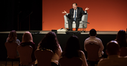 Prem Rawat speaks at the Peace Education meeting in Mexico,
