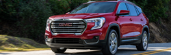 2022 GMC Terrain Exterior Driver Side Front Angle