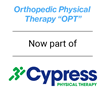 Orthopedic Physical Therapy has partnered with Cypress Physical Therapy