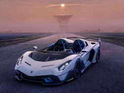 Lamborghini SC20 car front view