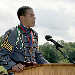 Blake Sundel delivered the Valedictory Address when he graduated from Fork Union Military Academy in 2011, and will return as the Commencement Speaker for the Class of 2021's graduation ceremony.