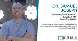 Dr. Samuel Jospeh spine surgeon