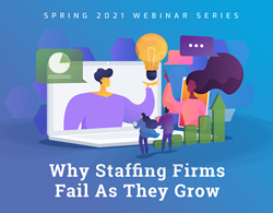 The webinar series begins on Friday, April 9th with James Boshier, head of product for Resume-Library and CV-Library and continues on April 23rd with Maurice Fuller, Founder of StaffingTec. Harvard Business School Professor Tom Eisenmann will conclude the series with CEIPAL Founder and CEO Sameer Penakalapati for a fireside chat, during which both visionaries will discuss entrepreneurial lessons from startup land that are guaranteed to help staffing firms and other HR organizations succeed.