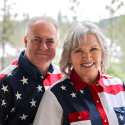 Dennis Porter and Theresa Wilson, Founders of Stars and Stripes Real Estate