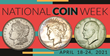 The 98th annual National Coin Week, April 18-24, 2021, celebrates  the historical, cultural, and artistic importance of money.