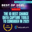 "Equalum awarded ""10 Best CDC Tools of 2021"" by Solutions Review"