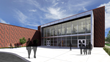 Sunset HS Gym Entry Rendering