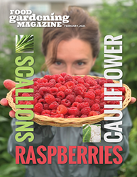 Food Gardening Magazine February 2021 Issue Cover