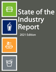 The 22nd State of the Industry Report includes input from raw material and machinery suppliers, converters, and foodservice distributors and operators.