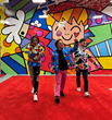 Dancing with The Happy Art Movement at The BRITTO® Palace