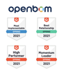 OpenBOM™ is Recognized With Multiple Customer Focused Awards In G2 Crowd 2021 Spring Reviews