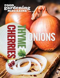 Food Gardening Magazine April 2021 Issue Cover