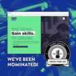 Mostly Serious Nominated For Best Employment Website & Mobile Site In the 25th Annual Webby Awards