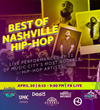 Sponsored by BMI and BMG, H.O.M.E., in partnership with Nashville Is Not Just Country Music, presents 'The Best of Nashville Hip-Hop' Livestream
