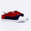 MG Slip On in navy/red/white
