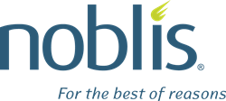 Noblis Logo with tagline for the best of reasons