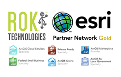 ROK Technologies achieves Gold Tier status in the Esri Partner Network