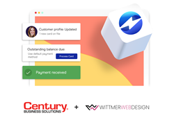 Wittmer Web Design and Century partner to bring secure payment processing to clients.