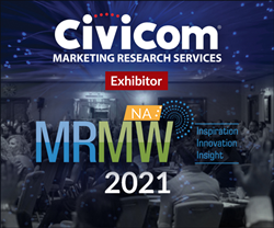 Civicom® Marketing Research Services Exhibits at MRMW NA 2021!
