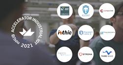 Industrial IoT Startup Logos mHUB Accelerator
