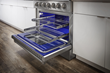 THOR Kitchen adds LuxGlide™ racks and brass burners to Professional Gas Ranges