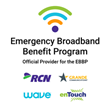 RCN, Grande, Wave and enTouch Join the FCC's Emergency Broadband Benefit Program