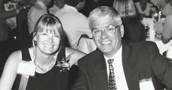 Len Crouse alongside Lisa Ventriss