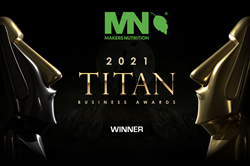 Makers Nutrition Walks Away Victorious in the 2021 TITAN Business Awards