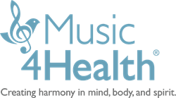 Music4Health Logo for Mental Health and Healing