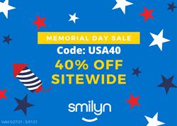 Smilyn Wellness Memorial Day Sale 2021