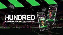 WebAR Cricket Game - The Hundred