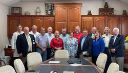 group of legislators, hospital leaders