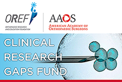 Image of the logos of the OREF and the AAOS