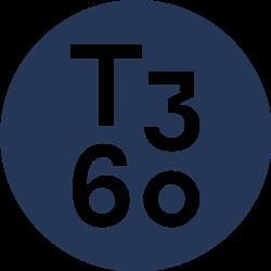 T3 Sixty Dark Blue logo