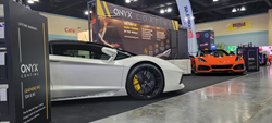 ONYX Coating's stall at the Carribean International Auto Expo