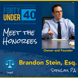 Outstanding Young Professionals of South Florida Top 40 Under 40 List