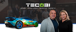 Jason Girdner (CEO) Scarlet Mick (VP) and TEAM TECOBI