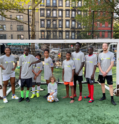 Through MaxOne and gearUP Partnership, Elephant Soccer Club of Harlem Helps Young Athletes Feel Like Champions